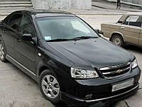 "Реснички на фары Chevrolet Lacetti sedan ""Широкие"""