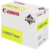 Тонер Canon C-EXV21 Yellow для iR C2880/ 3380 (0455B002), фото 1