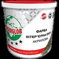 Краска интерьерная ЕКО+ акриловая 15 кг ANSERGLOB
