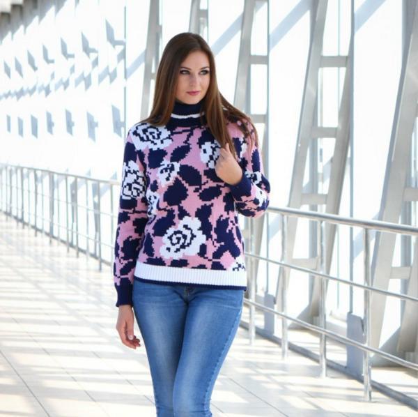 свитера женские вязаные пиксель продажа цена в хмельницком