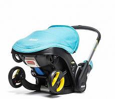 Автокресло-коляска Doona Simple Parenting  Turkuoise, фото 3