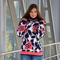 Теплые вязаные свитера - Пиксель