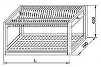 Сушка ТС 1000*300*450 мм