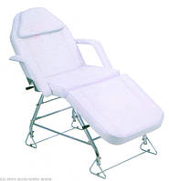 Кушетка-кресло косметическое,для депиляции, для наращивания ресниц, кушетка для косметолога на 3 секции