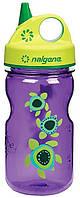 Детская бутылочка крепкая NALGENE Power System Черепашки Фиолетовый Море