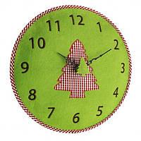 Годинник настінний TFA, d=330x40 мм, зелений