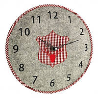 Часы настенные TFA, d=330x40 мм, серый