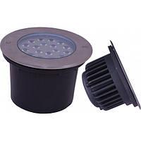 Светодиодный LED грунтовый 18Вт водонепроницаемый