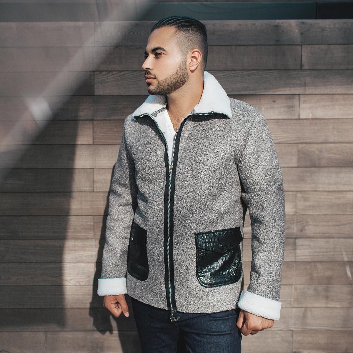 e78cb406722 Стильная мужская куртка