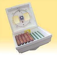 ИнкубаторКвочкаМИ-3-1-Эна 80яицсмех. переворотом,Литой корпус, вентилятор, нагревательный элемент ТЭН
