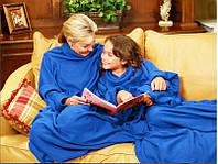 "Плед с рукавами  ""Уютная зима"", одеяло с рукавами Киев"