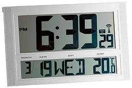 Часы настенные цифровые TFA, 270х420х45 мм