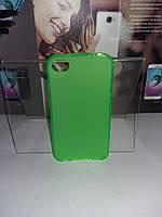 Чехол силиконовый накладка для iPhone 4G/4S