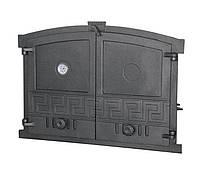 Дверка для хлебной печи с термометром (60х43 см/51,5х37 см)