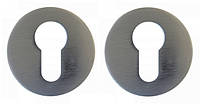 Накладка под цилиндр SYSTEM RO12Y NB - матовый никель
