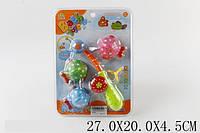 Игрушка для ванной Удочка с рыбками на планш. 27х20х4 /144/(SL87001B)
