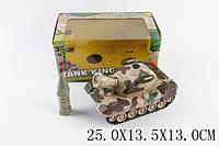 Танк, пускает мыльные пузыри, батар., в кор. 25х13х13 /48/(BT-2214E)