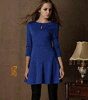 Платье  Французский трикотаж код 533 (ОЛС)