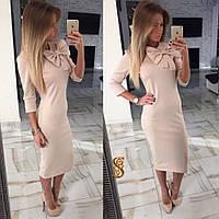 Платье Французский трикотаж код 501 (ОЛС)