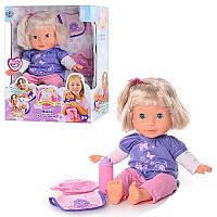 Интерактивная кукла Мила Время обеда 8 функций, рост 35 см