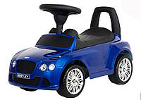 Каталка-толокар Bentley Z 326s-4 синий, автопокраска