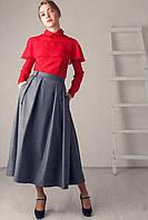 Стильная теплая юбка р.42-46