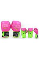 Перчатки боксерские PU на липучке EVERLAST BO-5034
