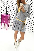Платье Французский трикотаж код 520 (ОЛС)