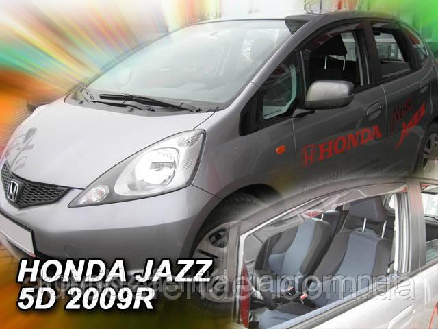 ветровики honda jazz 2009