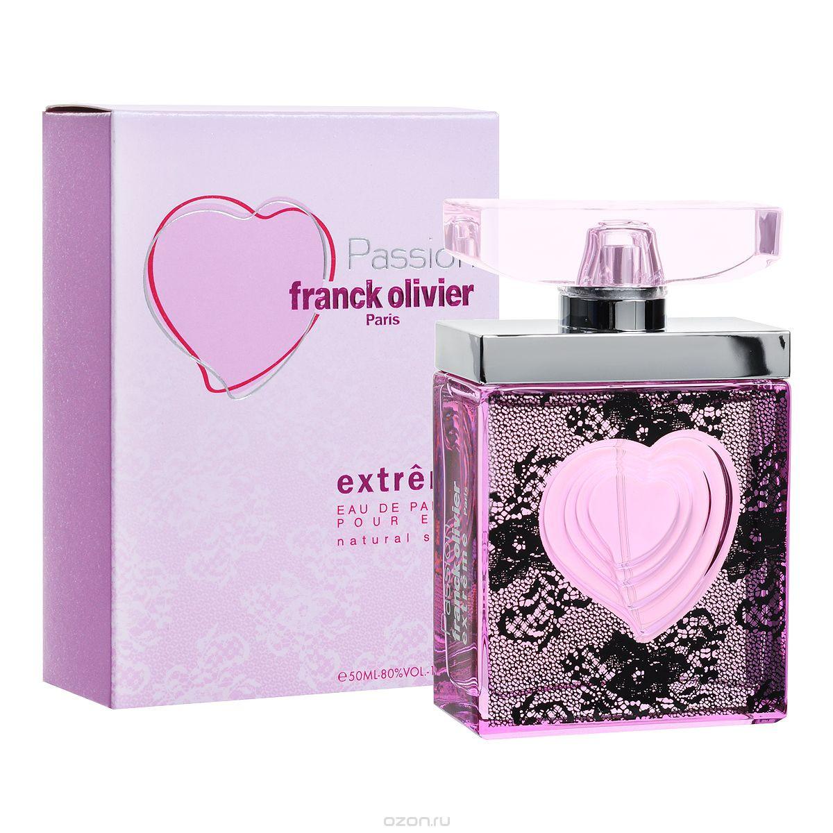 Franck Olivier Passion Extreme 75ml жіноча парфумована вода (оригінал)
