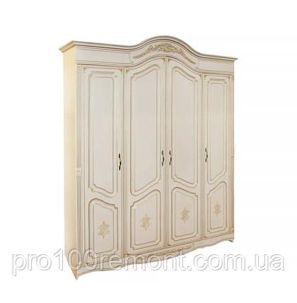 """Шкаф """"Гармония"""" мдф (4-х дв.) от Альфа-мебель, фото 2"""