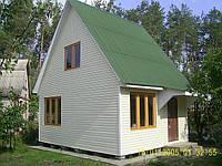 """Дачный дом «Гармония""""— 5х6м, общая площадь 55м2"""
