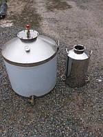 Испаритель, перегонный куб, бидон с нержавейки, бродильная емкость 30 литров
