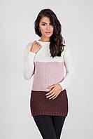 Очень теплый и мягкий удлиненный свитер