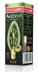 Лампа накаливания декоративная Свеча 40Вт Е14  2700K dimmable ArtDeco