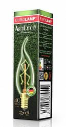 Лампа накаливания декоративная Свеча на ветру 40Вт Е14  2700K dimmable ArtDeco