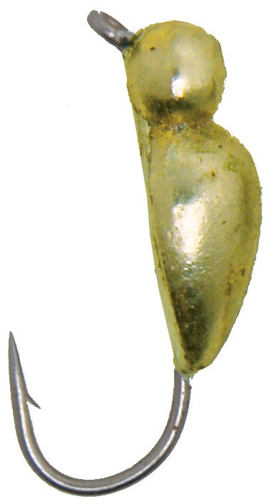 Мормышка Lucky John Жук с петелькой 4mm 10