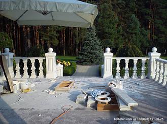 Балясины Обухов | Бетонная балюстрада в Киевской области  5