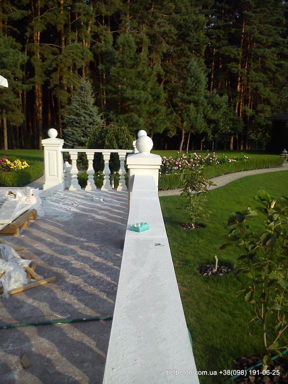 Балясины Обухов   Бетонная балюстрада в Киевской области  7