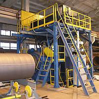 Дробеметная установка для очистки труб мод. PSB-1420