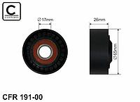 Натяжитель ремня генератора на Renault Kangoo II 2008-> 1.5dCi + 1.6 16V (+/-AC) —Caffaro (Польша) - CFR191-00