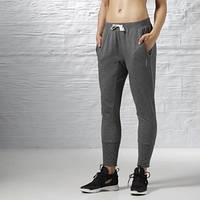 Спортивные брюки хлопковые Reebok Elements Fleece Mesh AY1982 флис