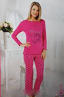 Байковая женская пижама 152