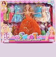 Кукла типа Барби с одеждой Q21A2