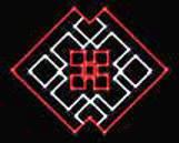 """Мотив светодиодный универсальный """"Орнамент"""", 0.75x0.52 м, 21 Вт"""