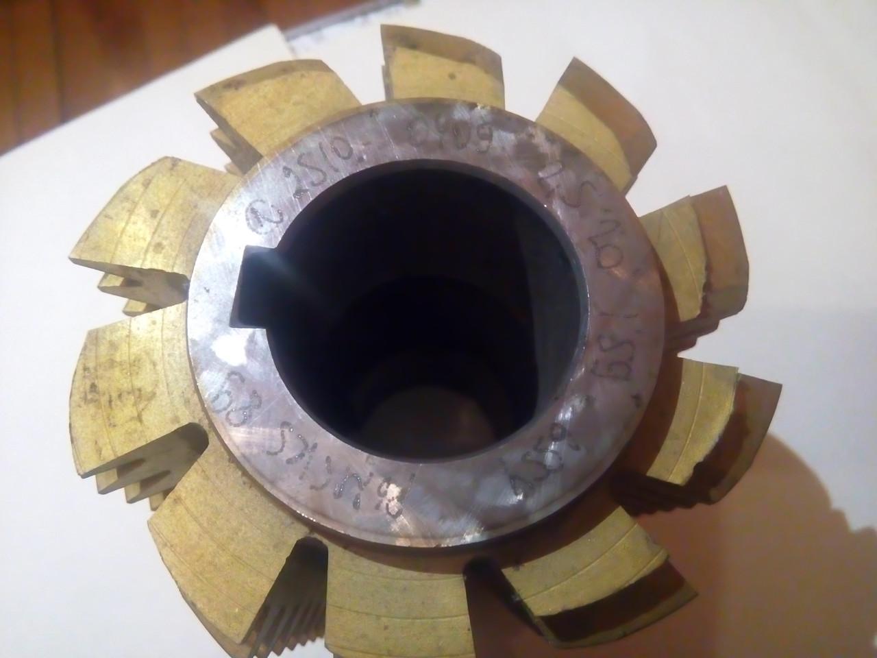 Фреза червячнаяМ2,5 20град Z10 Р6М5К5(2510-0406)