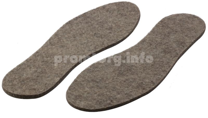 Стельки для обуви из войлока