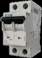 Eaton/Moeller 4kA PL4-C16/2 16А, 2-полюсный автоматический выключатель