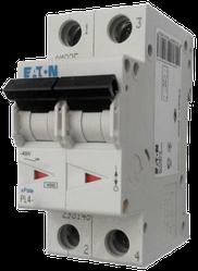 Eaton/Moeller 4kA PL4-C25/2 25А, 2-полюсный автоматический выключатель