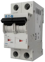 Eaton/Moeller 4kA PL4-C32/2 32А, 2-полюсный автоматический выключатель